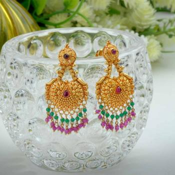 02764cd64 Latest Traditional Gold Earrings Design